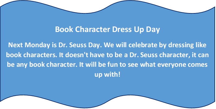 book dress up day
